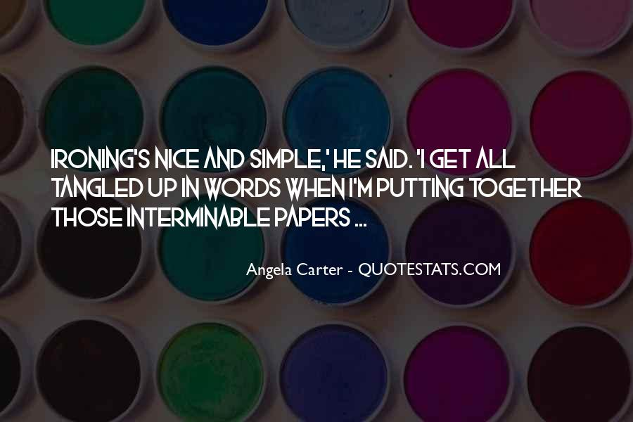 Simple And Nice Quotes #218109