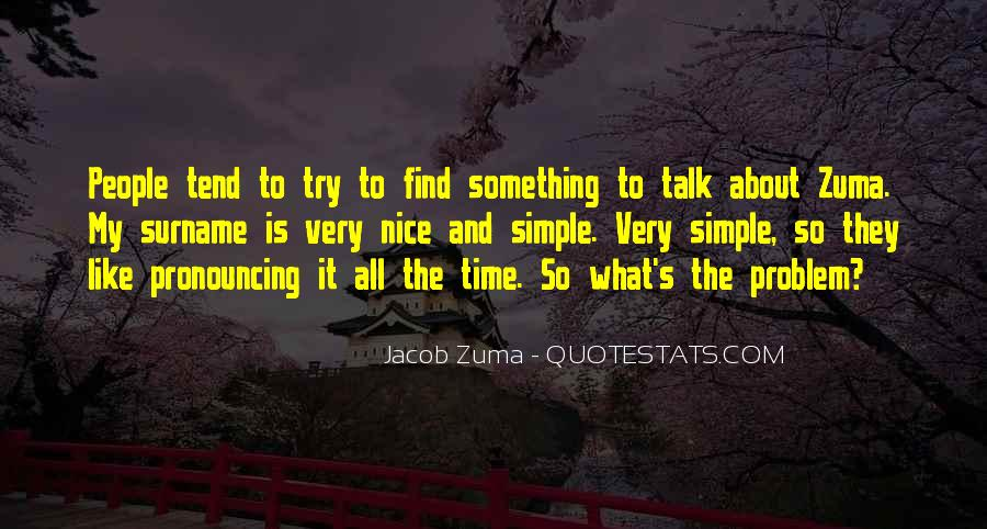 Simple And Nice Quotes #790022