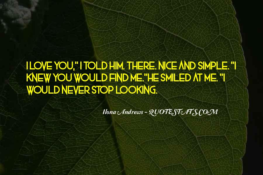 Simple And Nice Quotes #904224