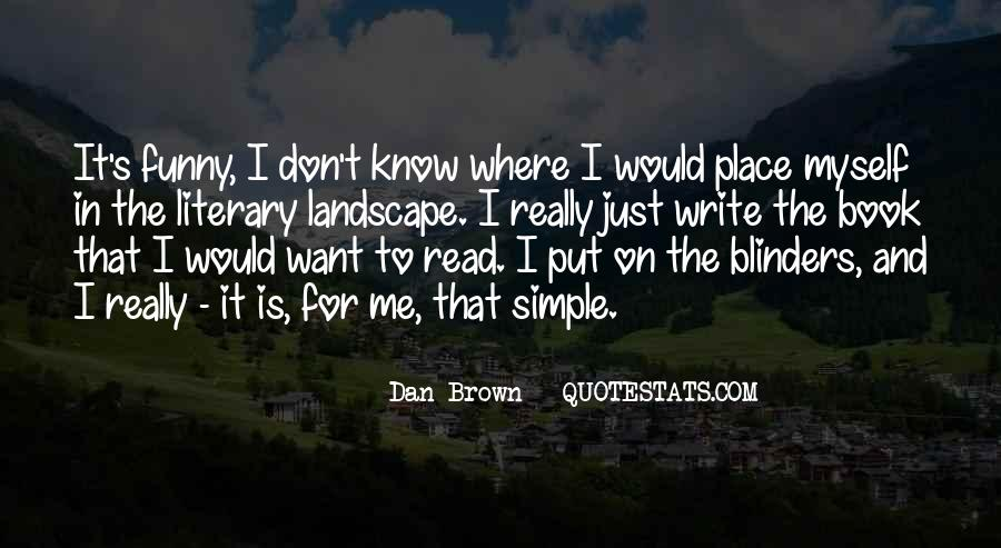 Simple But Funny Quotes #1001209