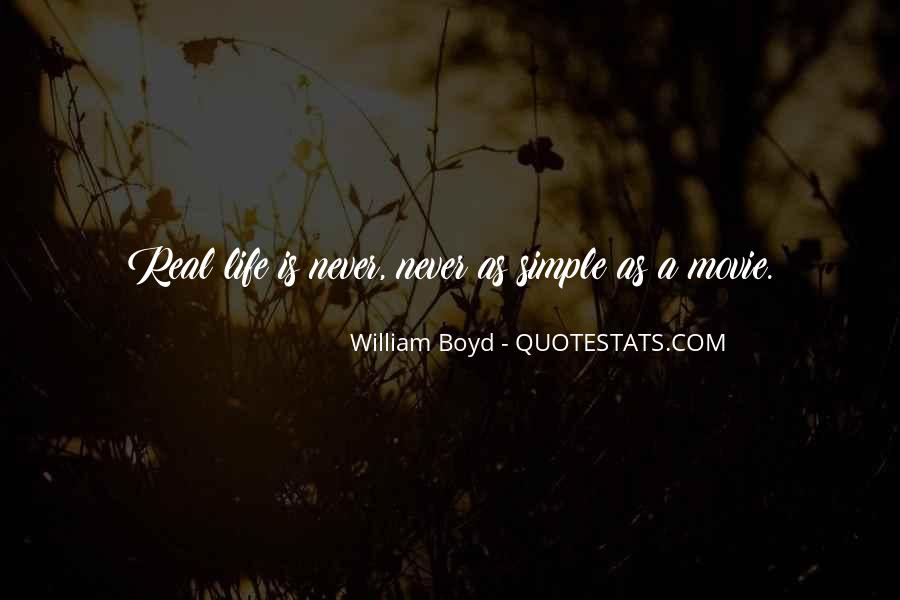 Simple But Real Quotes #759364