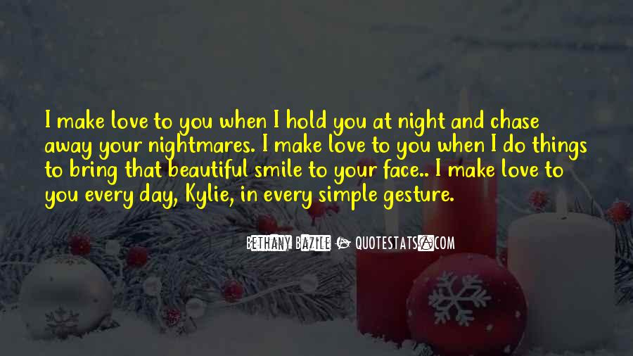 Simple Gesture Of Love Quotes #1199754