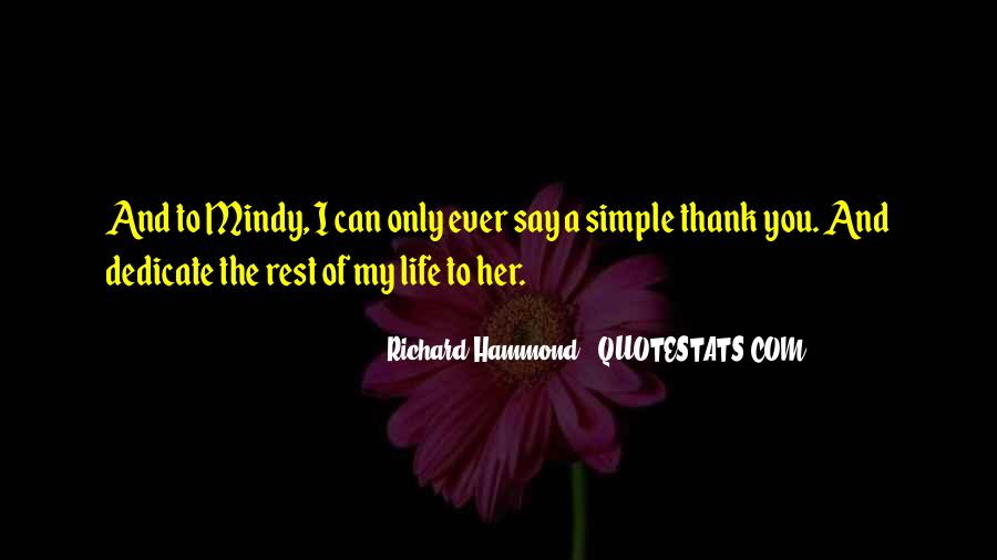 Simple Thank You Quotes #1031920
