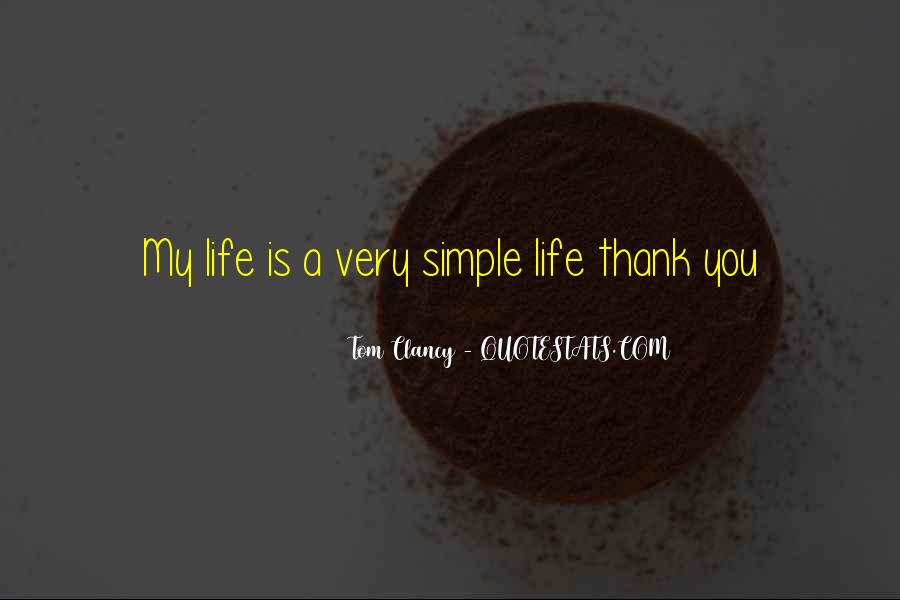 Simple Thank You Quotes #1878728