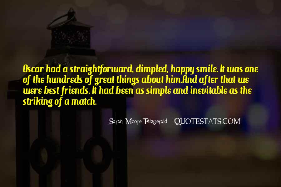 Simple Things Happy Quotes #1710149