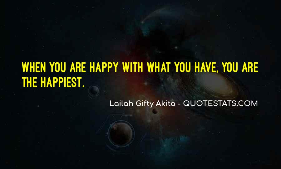Simple Things Happy Quotes #198581