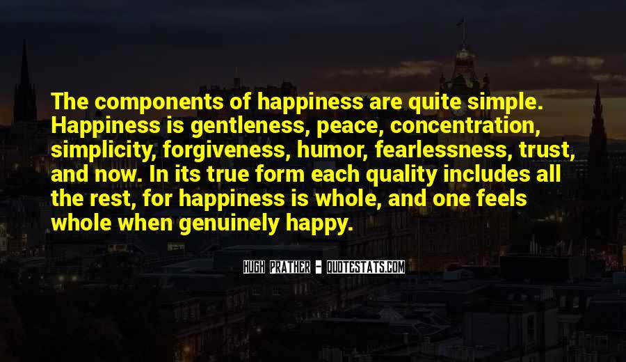 Simple Things Happy Quotes #314305