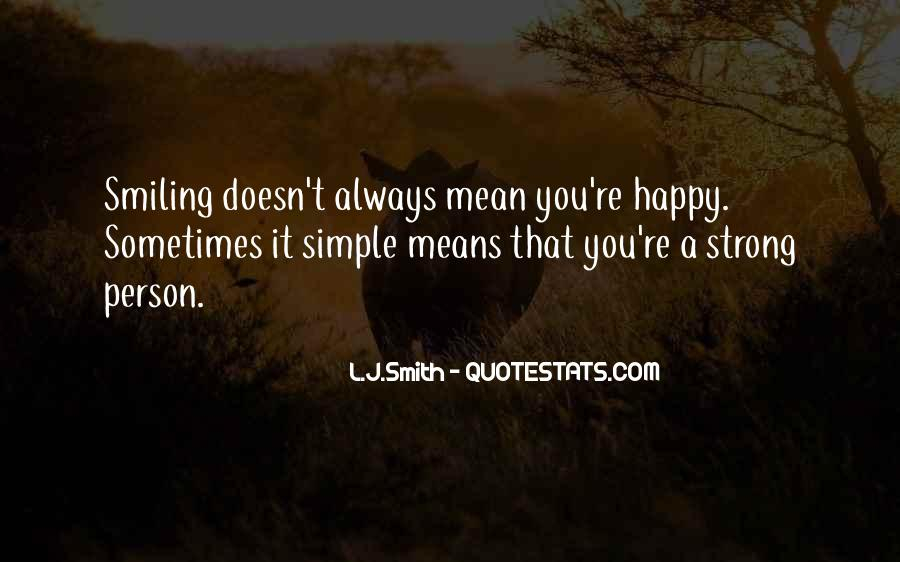 Simple Things Happy Quotes #383334