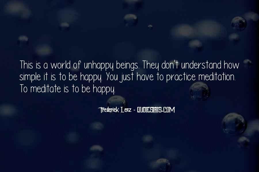 Simple Things Happy Quotes #384836