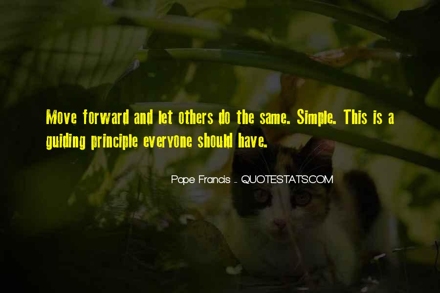 Simple Things Happy Quotes #490025