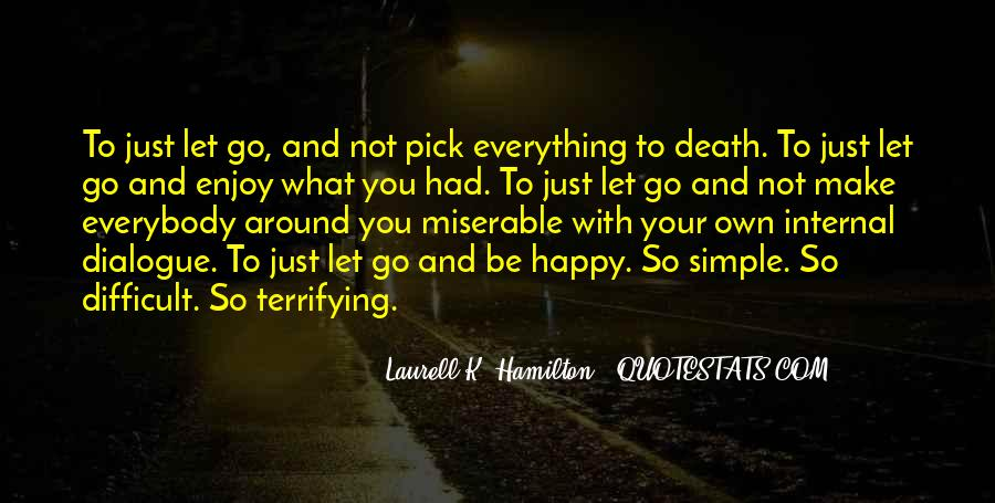 Simple Things Happy Quotes #527383