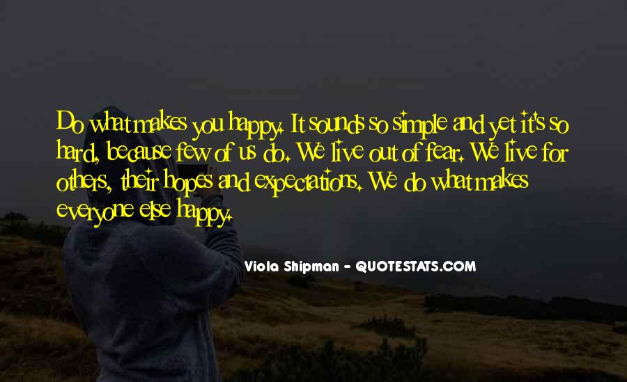 Simple Things Happy Quotes #533251