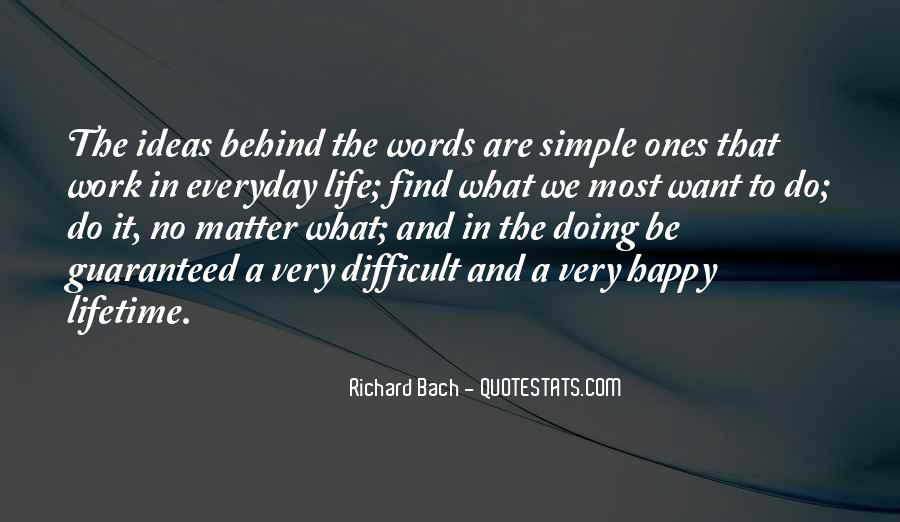 Simple Things Happy Quotes #546504