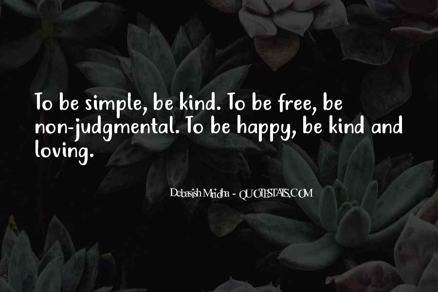 Simple Things Happy Quotes #652128