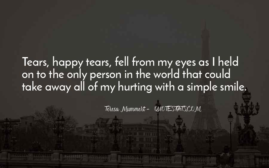 Simple Things Happy Quotes #721608