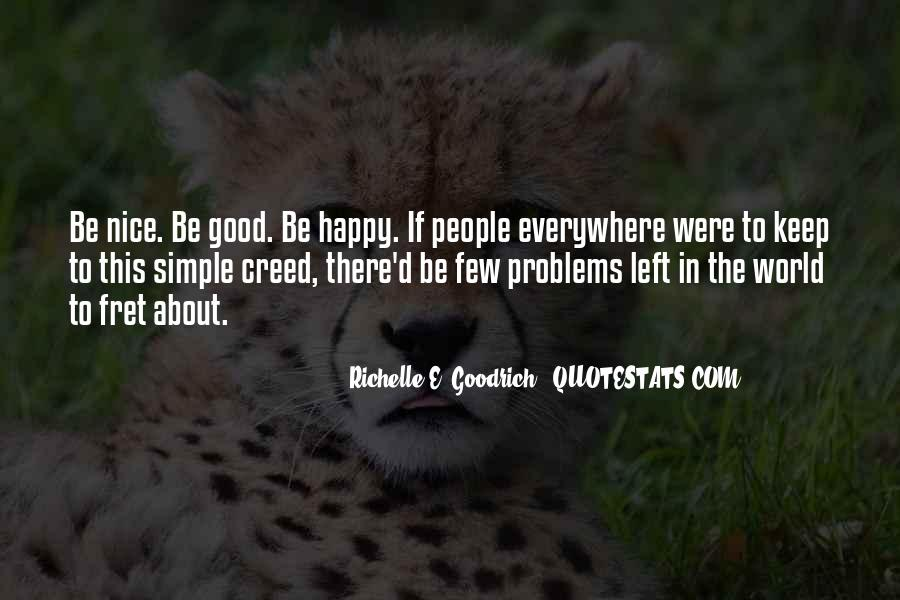 Simple Things Happy Quotes #751528