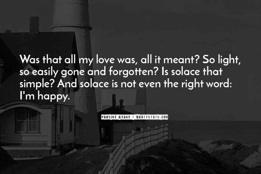 Simple Things Happy Quotes #767932
