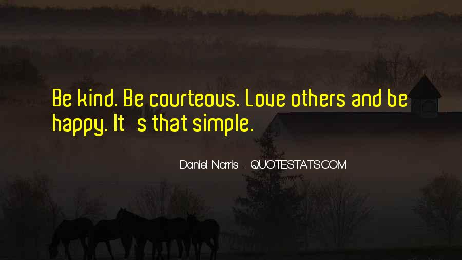 Simple Things Happy Quotes #802149