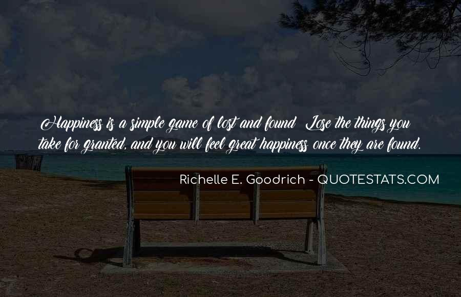 Simple Things Happy Quotes #967914