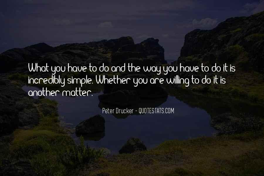 Simple Things Matter Most Quotes #130673