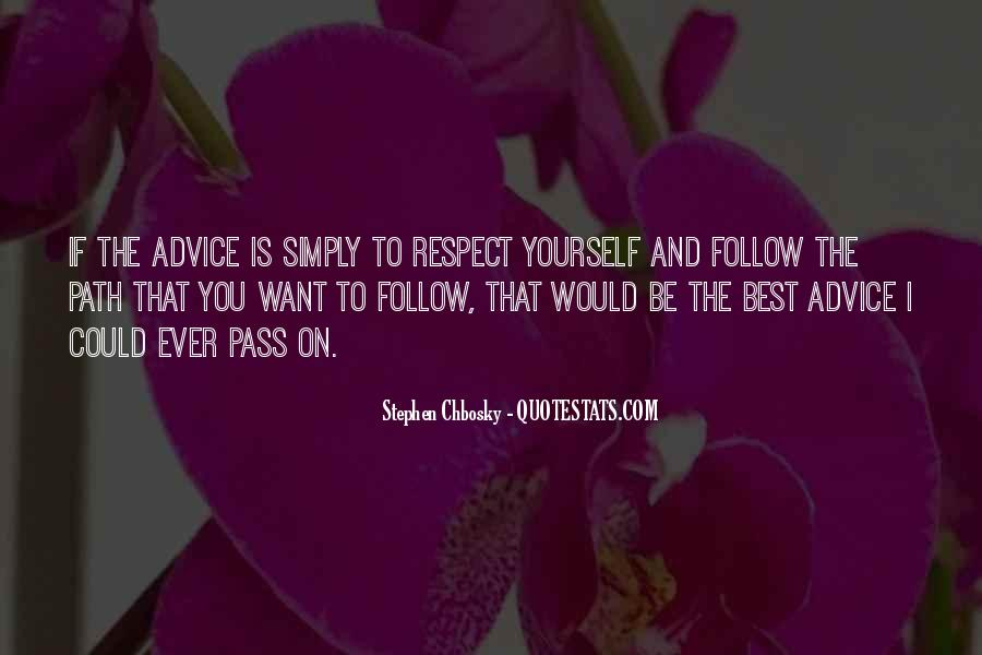 Simply Be You Quotes #15767