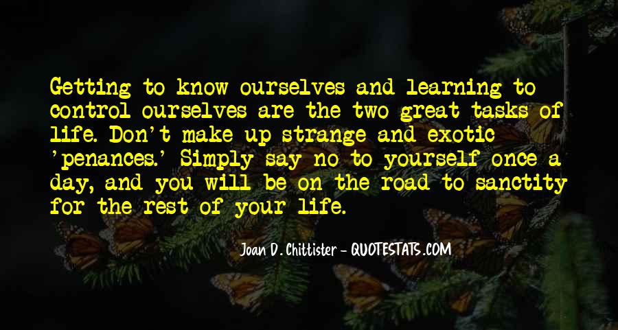 Simply Be Yourself Quotes #1247871