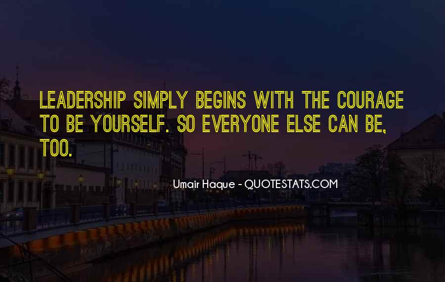 Simply Be Yourself Quotes #128145