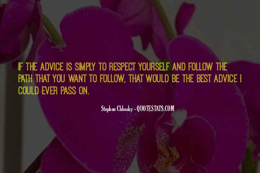Simply Be Yourself Quotes #15767