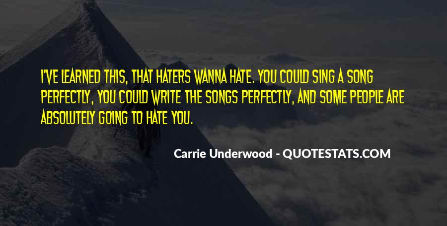 Sing Your Own Song Quotes #29429