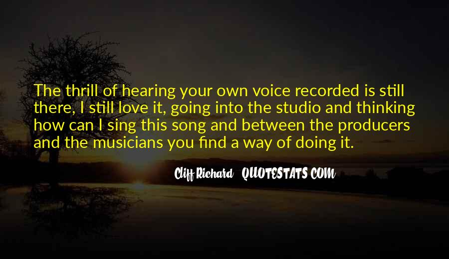 Sing Your Own Song Quotes #550819
