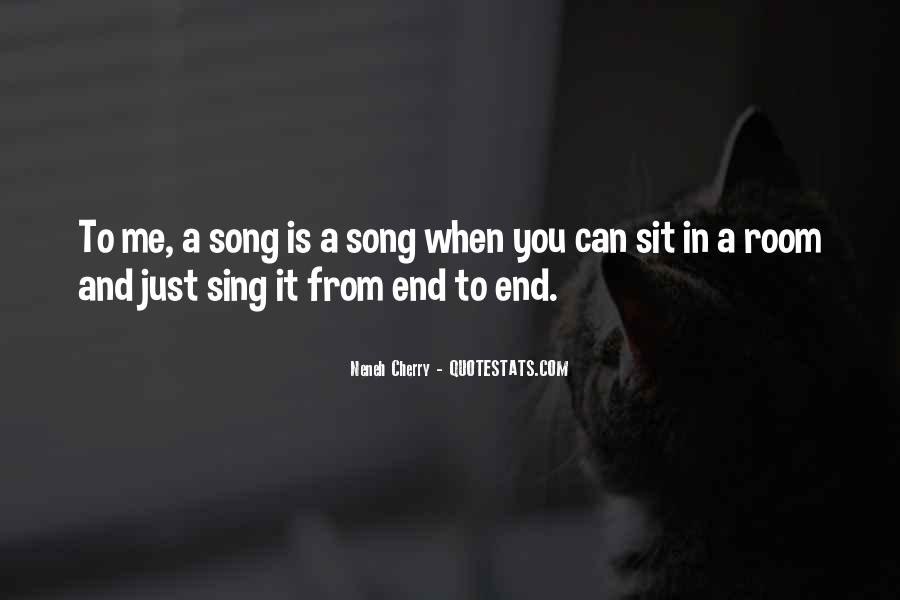 Sing Your Own Song Quotes #79498