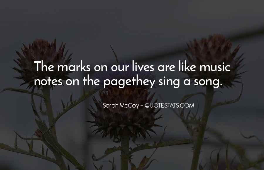Sing Your Own Song Quotes #80950