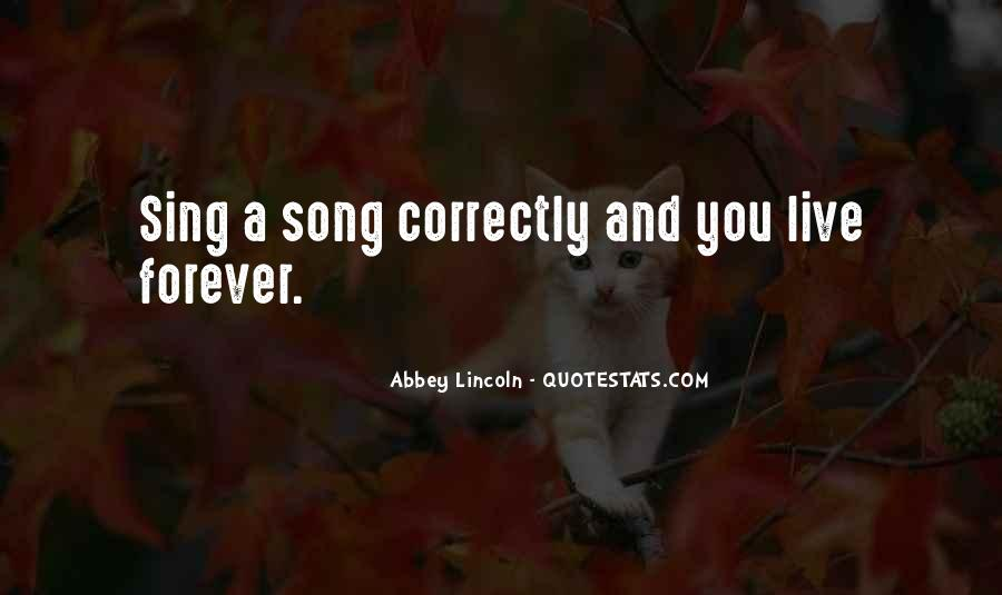 Sing Your Own Song Quotes #83970