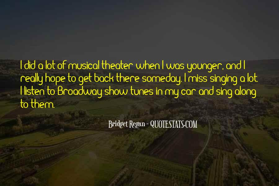 Singing In Car Quotes #127151