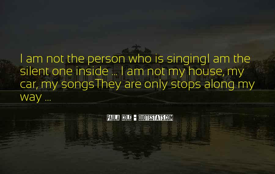 Singing In Car Quotes #564467
