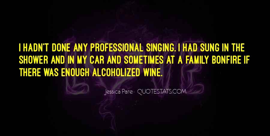Singing In Car Quotes #65469