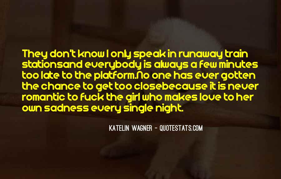 Single But Sad Quotes #1041976