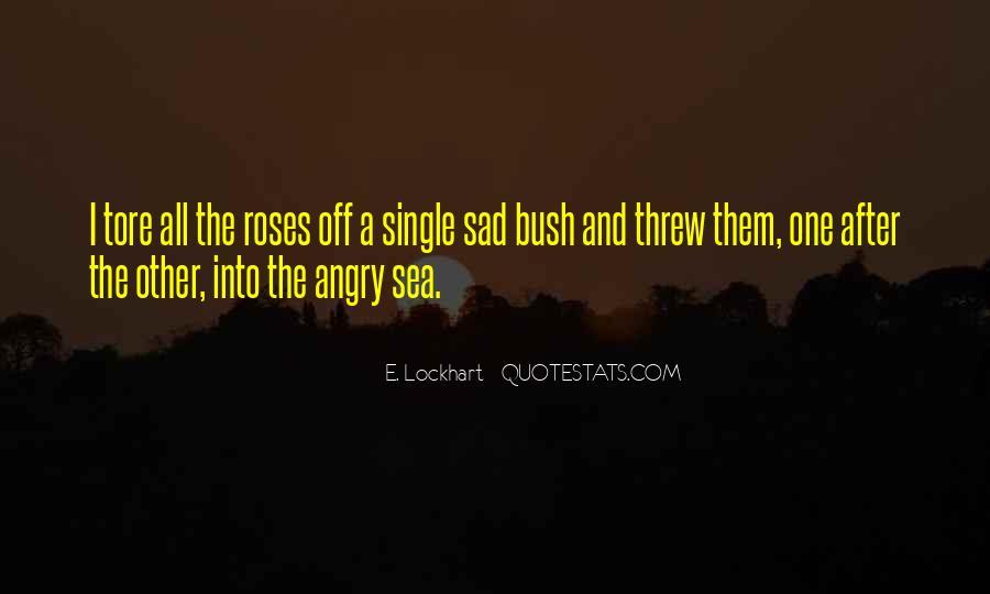 Single But Sad Quotes #10478