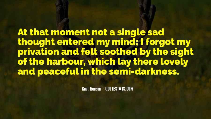Single But Sad Quotes #1185756