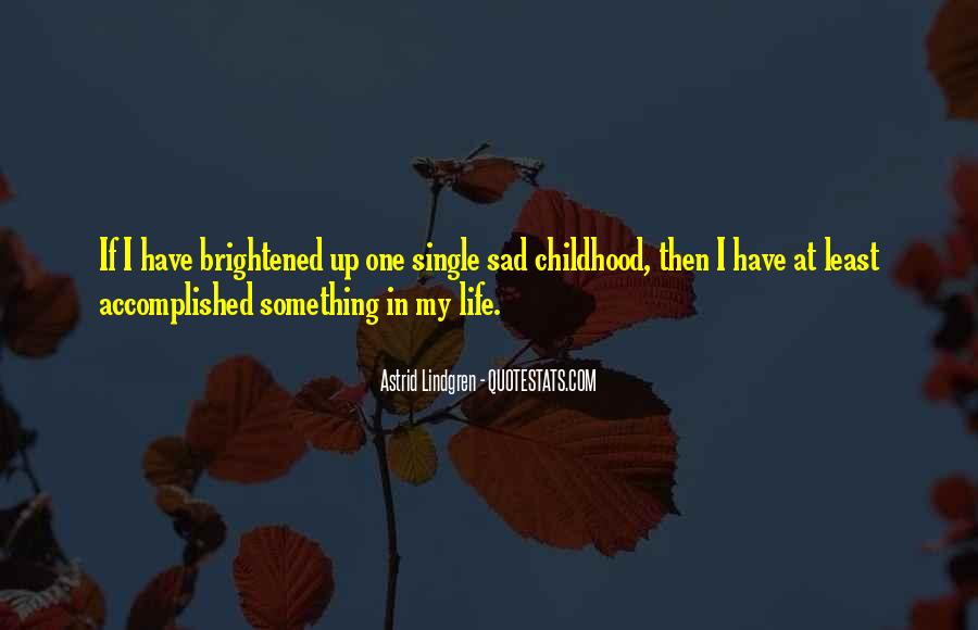 Single But Sad Quotes #129280