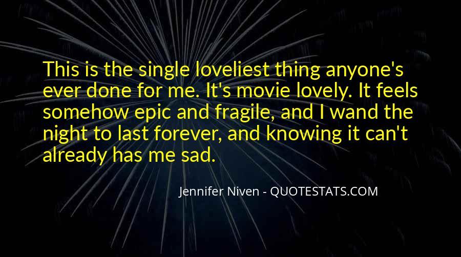 Single But Sad Quotes #899218