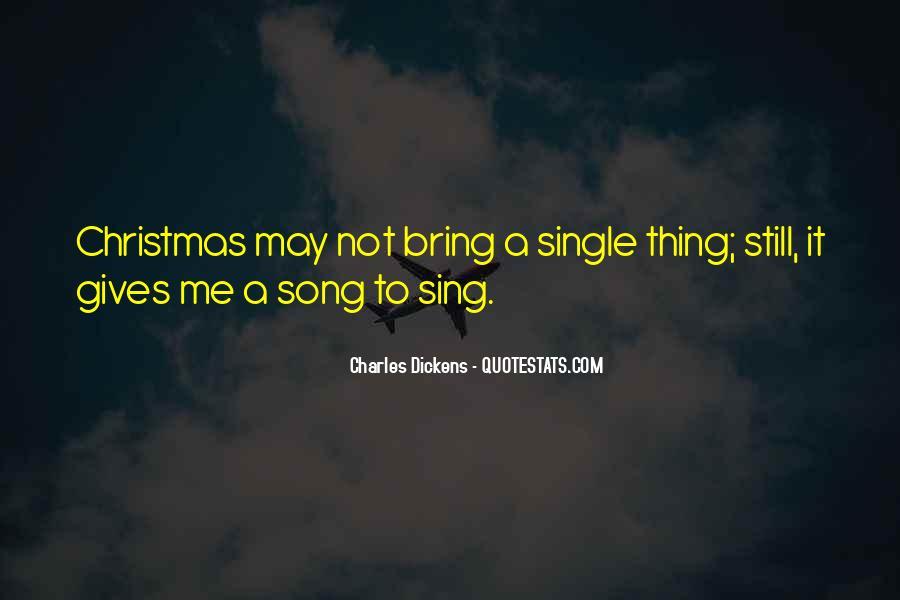 Single Christmas Quotes #1700363