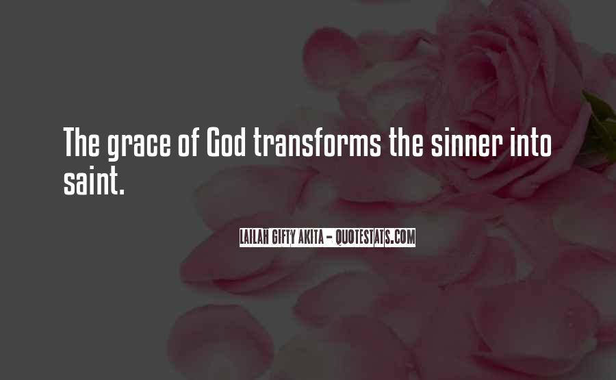 Sinner Saved By Grace Quotes #1661768