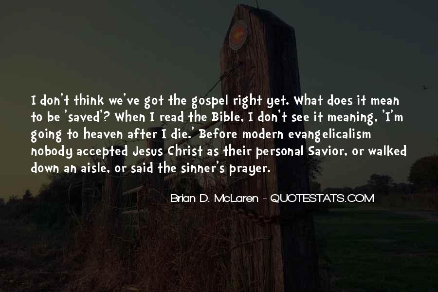 Sinner's Prayer Quotes #1184299