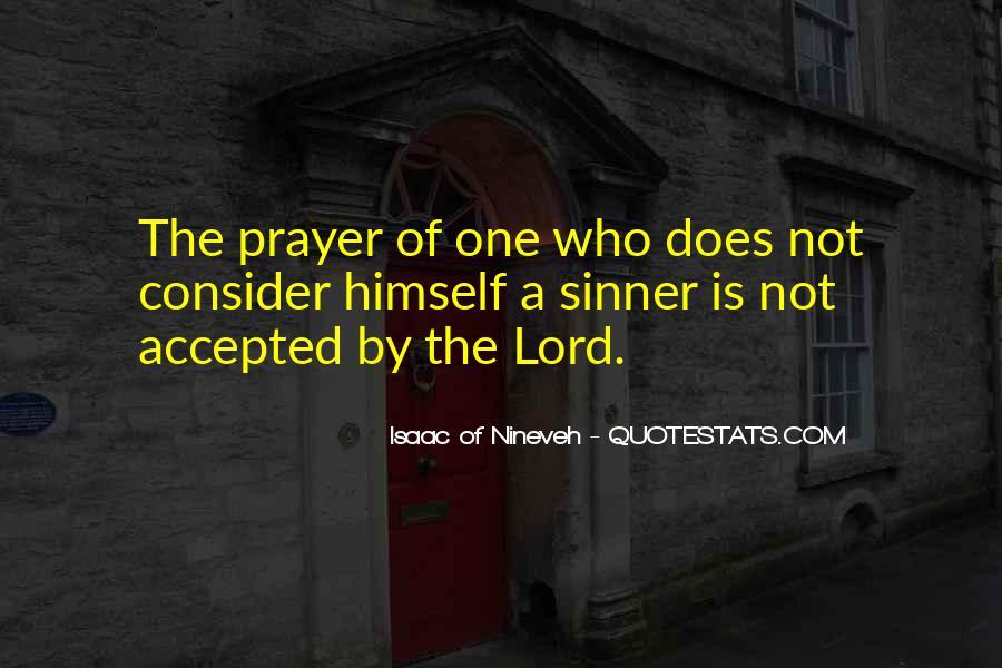 Sinner's Prayer Quotes #411618