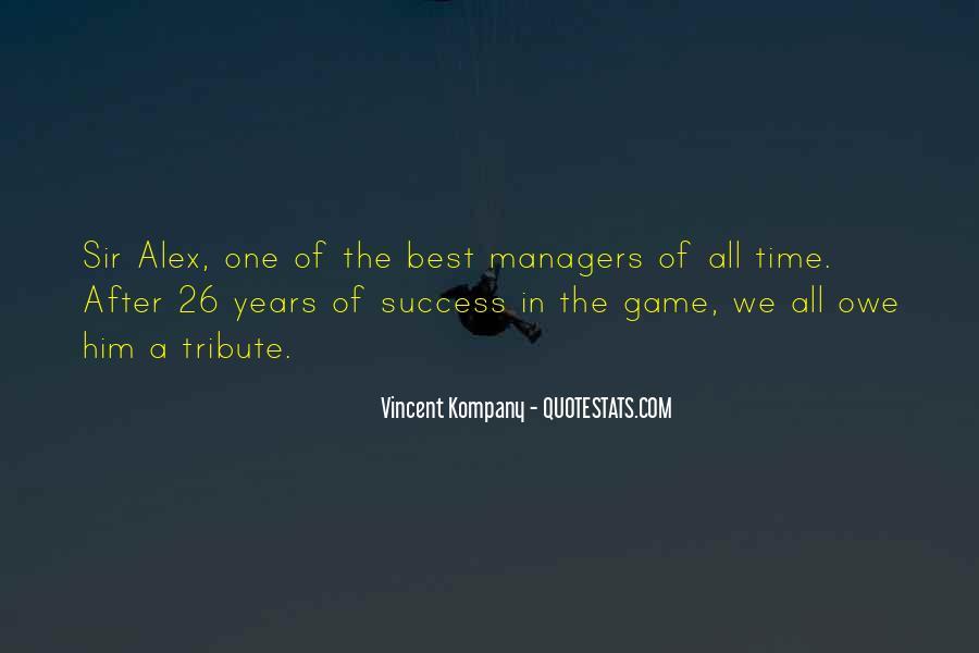 Sir Alex Quotes #232480