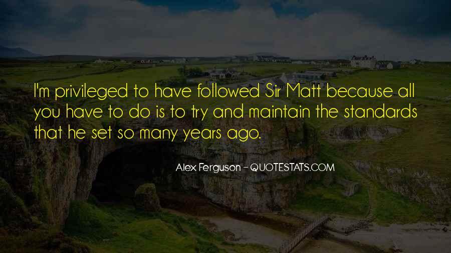 Sir Alex Quotes #240778