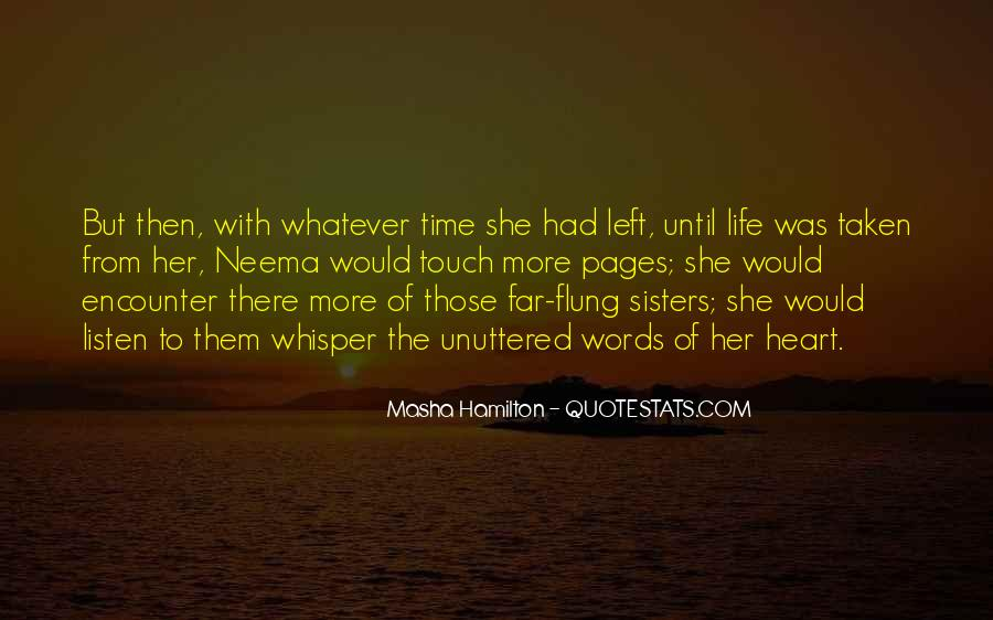 Sisters For Life Quotes #355618