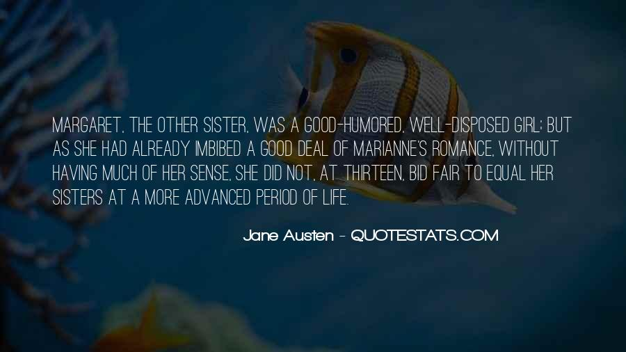 Sisters For Life Quotes #358231