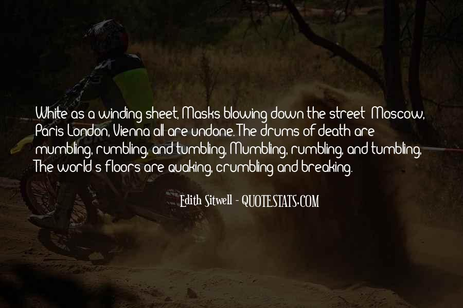 Sitwell Quotes #1139643